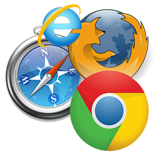 Popular Internet browsers